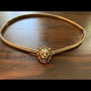 Vintage lion belt